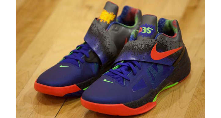 "Photo01 - NIKE ZOOM KD IV ""NERF"""