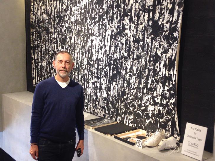 Photo03 - オニツカタイガー渋谷にて、デザイン集団TOMATO結成25周年を記念し、ジョン・ワーウィッカー氏のアート作品を展示