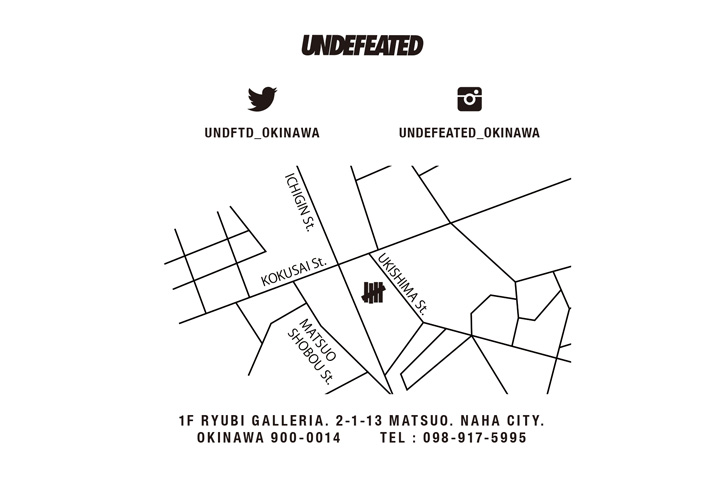 Photo02 - UNDEFEATEDは沖縄に新店舗をオープン