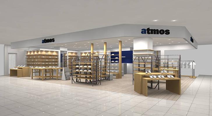 Photo01 - atmosの新店舗としてatmos Chibaを、2017年9月7日(木)にオープン