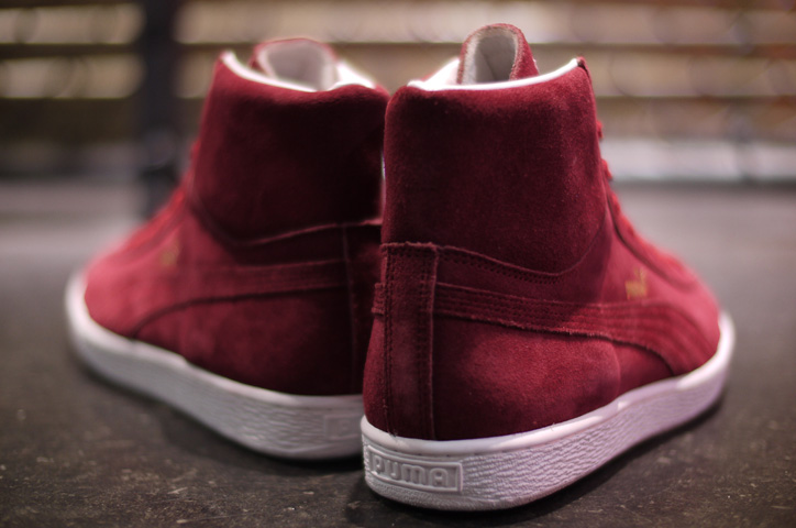 """Photo06 - Puma JAPAN SUEDE MID """"made in JAPAN"""" """"LIMITED EDITION for 匠 COLLECTION"""""""