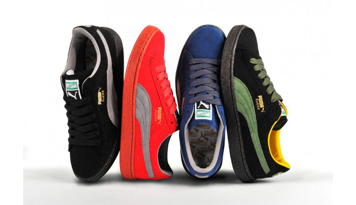 Photo01 - Puma The List Re-Suede Color Pack