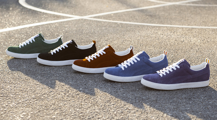 "Photo01 - UNDFTD x PUMA Clyde ""Gametime"" Pack"