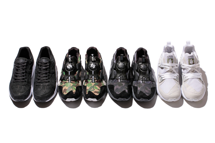 Photo02 - PUMAがA BATHING APE®とコラボレートしたPUMA x BAPE® COLLABORATION COLLECTIONを発表