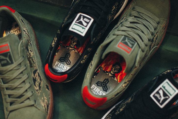 "Photo04 - プーマから、mita sneakersとSBTGがタッグを組み完成したコラボモデルCLYDE CONTACT ""First Contact""が登場"