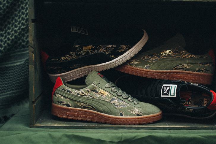 "Photo05 - プーマから、mita sneakersとSBTGがタッグを組み完成したコラボモデルCLYDE CONTACT ""First Contact""が登場"