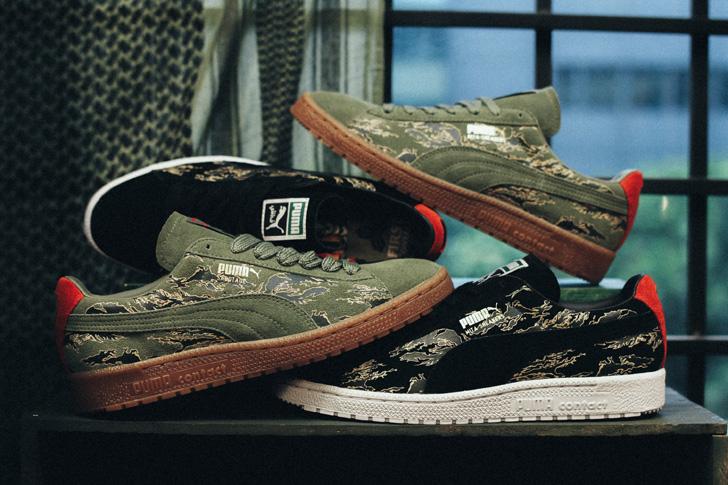 "Photo08 - プーマから、mita sneakersとSBTGがタッグを組み完成したコラボモデルCLYDE CONTACT ""First Contact""が登場"
