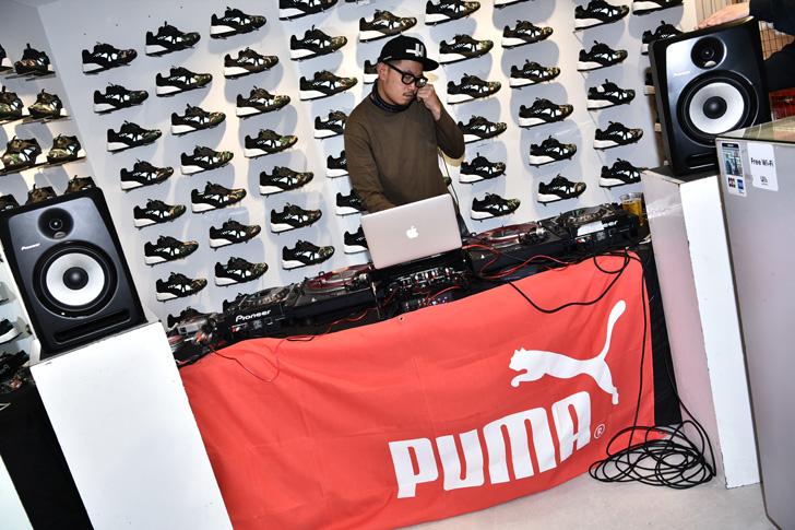 "Photo15 - PUMA for atmos DISC BLAZE ""NIGHT JUNGLE""の発売を記念したローンチパーティーが開催"