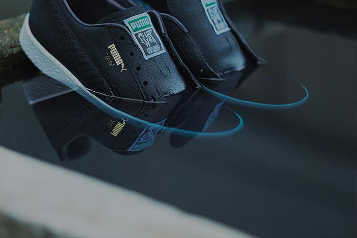 Photo05 - プーマから、アパレルブランドCLUCTとmita sneakersによるコラボレートモデルCLYDE FOR CLUCT MITAが登場