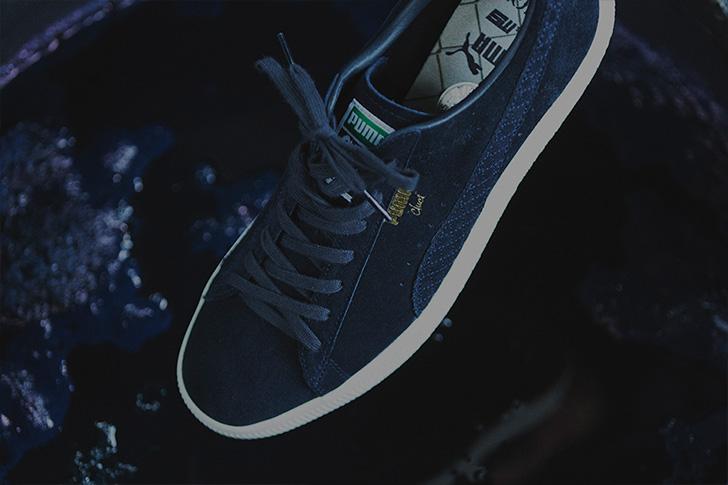 Photo07 - プーマから、アパレルブランドCLUCTとmita sneakersによるコラボレートモデルCLYDE FOR CLUCT MITAが登場