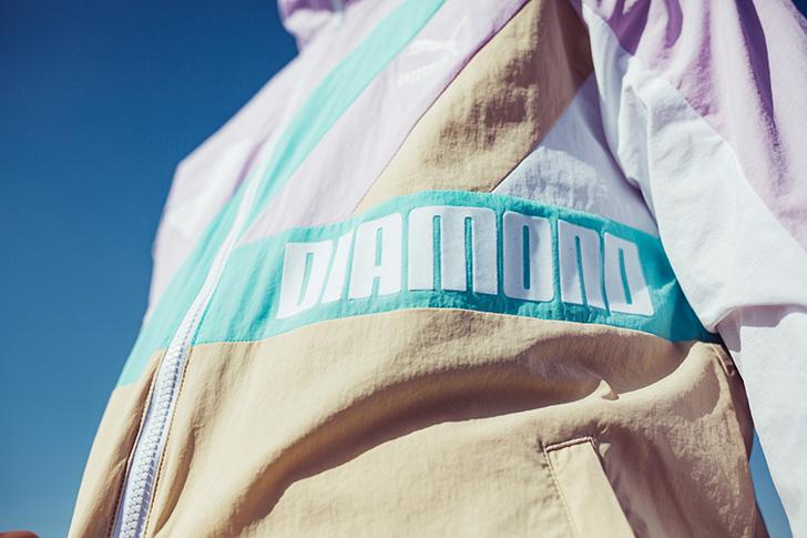 Photo18 - プーマとDiamond Supply Co. はスニーカー、アパレル、アクセサリーのコラボレーションコレクションを発売