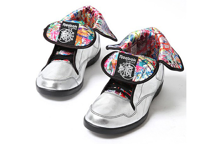 Photo06 - Ryan McGinness x Reebok RMCQ Art Shoe – Affili Art Collection