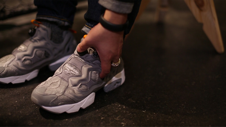 "Photo02 - Reebok CLASSIC Instapump Fury mita sneakers ""20th Anniversary""のPVを公開"