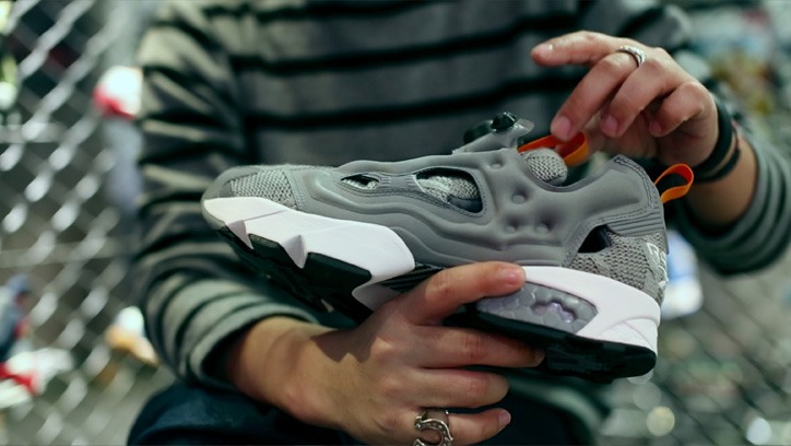 "Photo05 - Reebok CLASSIC Instapump Fury mita sneakers ""20th Anniversary""のPVを公開"