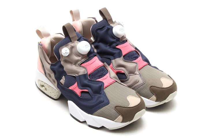 Photo02 - Reebok x Garb Store INSTA PUMP FURY NUTMEG/NAVY/MOODY PINK