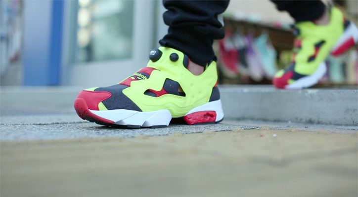 "Photo05 - Reebok CLASSIC Instapump Fury atmos ""20th Anniversary""のPVを公開"