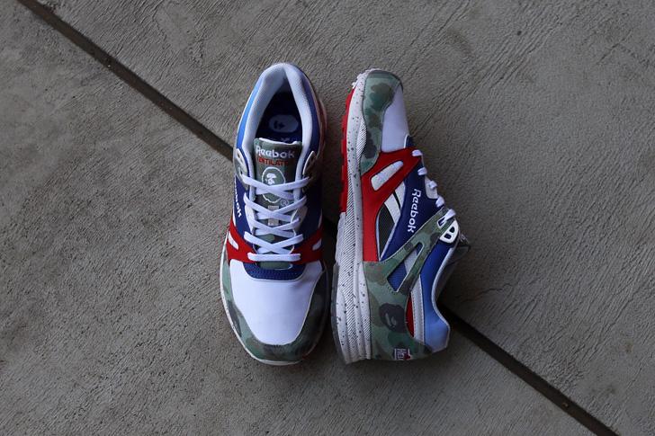 Photo01 - リーボック クラシックから、A BATHING APE®とmita sneakersによるオフィシャルコラボ第2弾が待望のローンチ