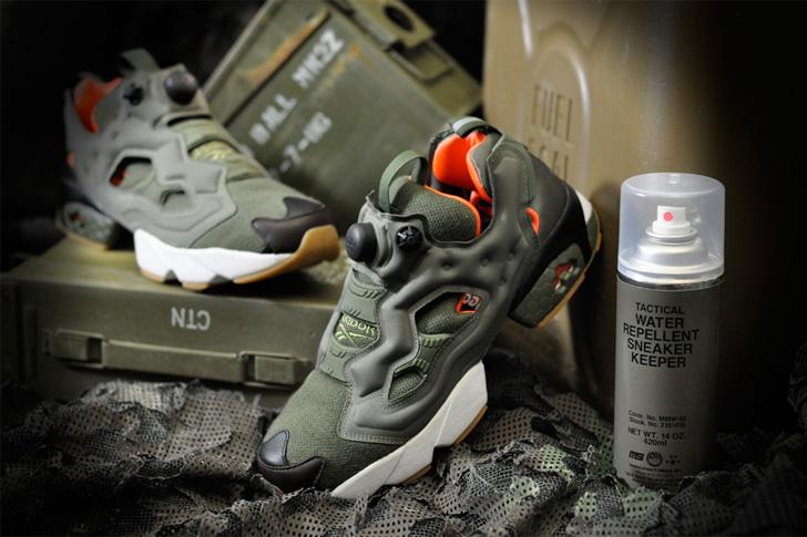 """Photo01 - リーボック クラシックから、Winiche & Co.とmita sneakersによるコラボモデルINSTA PUMP FURY OG """"FLIGHT JACKET""""が登場"""