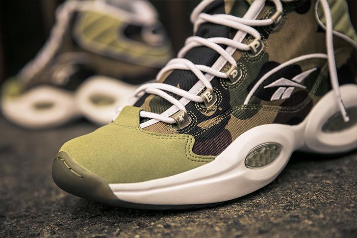 "Photo10 - リーボックから、BAPE®とmita sneakersによるコラボレーションモデルQUESTION MID ""A BATHING APE® x mita sneakers""が発売"