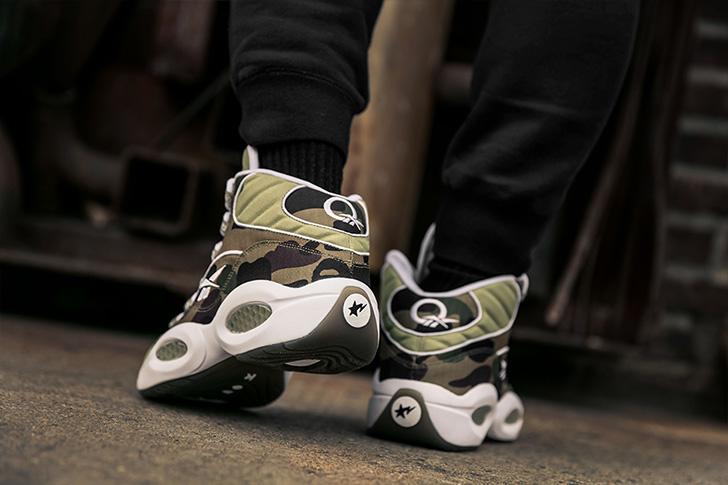 "Photo13 - リーボックから、BAPE®とmita sneakersによるコラボレーションモデルQUESTION MID ""A BATHING APE® x mita sneakers""が発売"