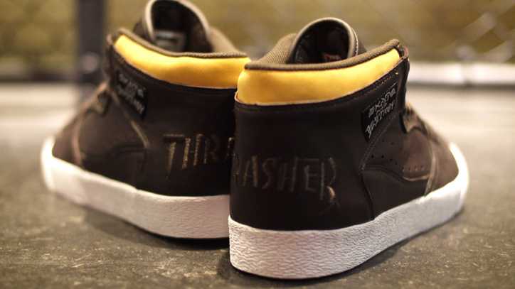 Photo05 - CLUCT x mita sneakers x THRASHER BUCHANAN DOG