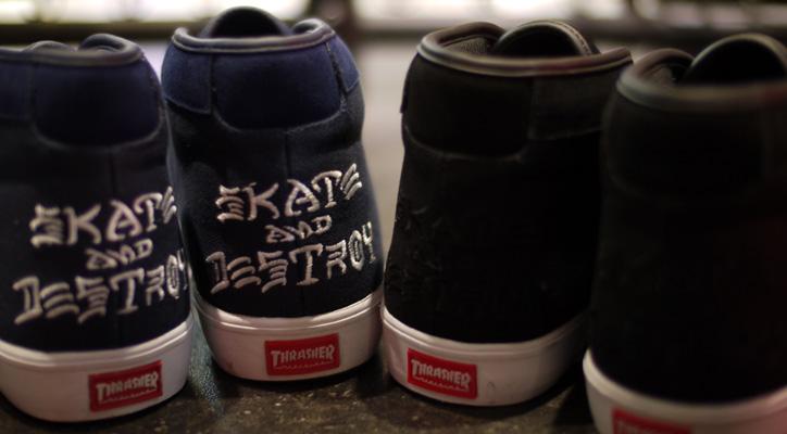 Photo01 - CLUCT x mita sneakers x THRASHER ROCKAWAY