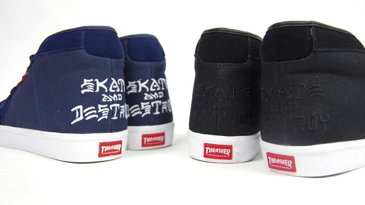 Photo05 - CLUCT x mita sneakers x THRASHER ROCKAWAY