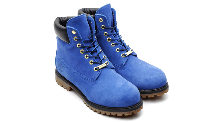 Photo01 - atmos x Timberland 6inch PREMIUM BOOT BLUE SUEDE