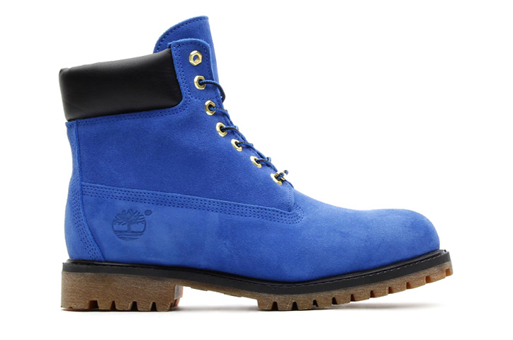 Photo02 - atmos x Timberland 6inch PREMIUM BOOT BLUE SUEDE