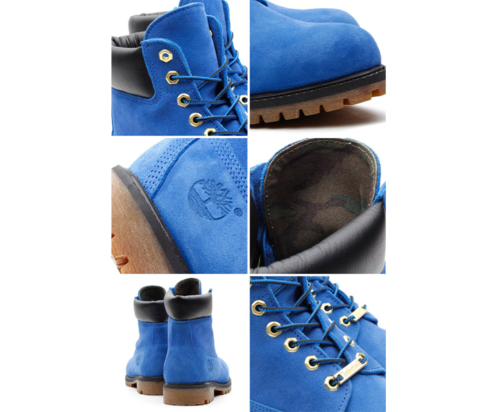 Photo03 - atmos x Timberland 6inch PREMIUM BOOT BLUE SUEDE