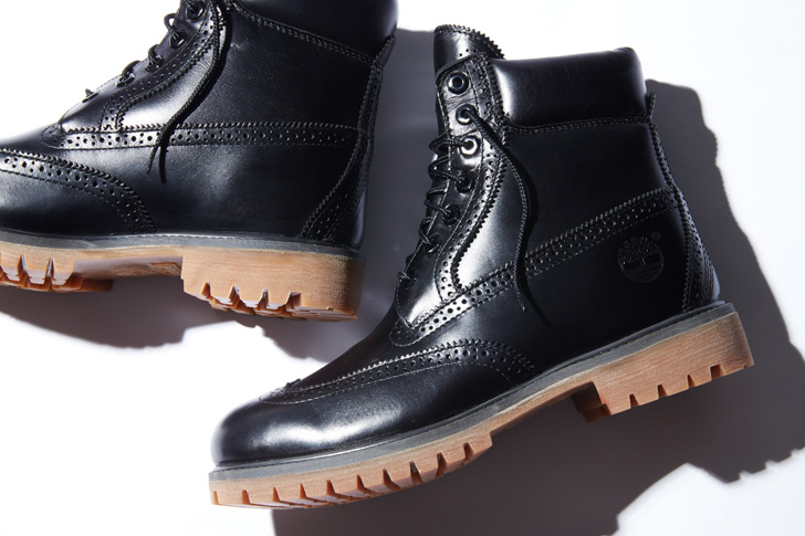 "Photo01 - ティンバーランドは、SHIPS JET BLUE限定""6inch Waterproof Brogue Boot""を発売"