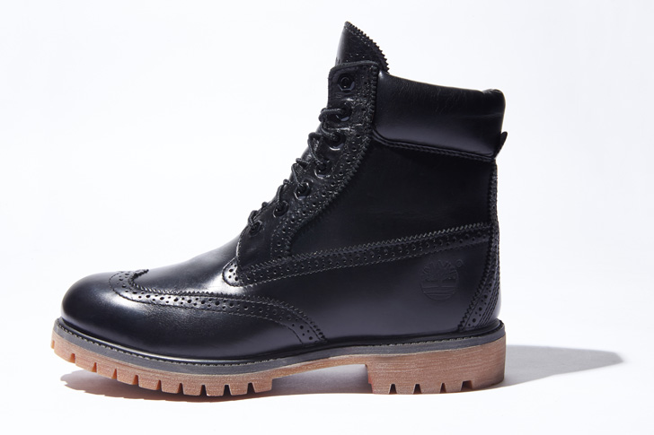 "Photo03 - ティンバーランドは、SHIPS JET BLUE限定""6inch Waterproof Brogue Boot""を発売"