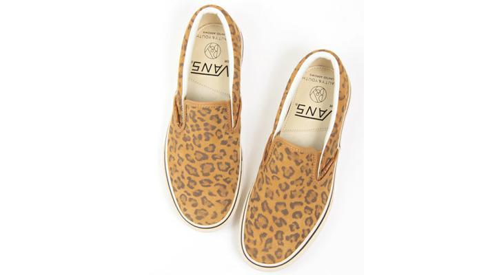 Photo01 - BEAUTY&YOUTH x VANS Leopard Slip-On