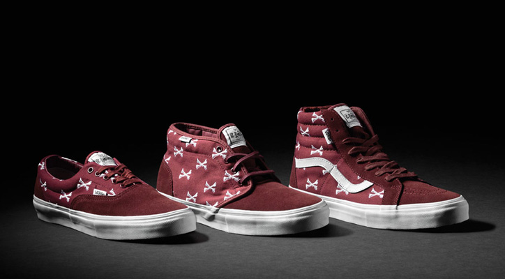 Photo01 - WTAPS x Vans Syndicate Burgundy Bones Pack