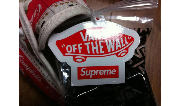 "Photo03 - Supreme x Vans Authentic ""Campbell Soup"""