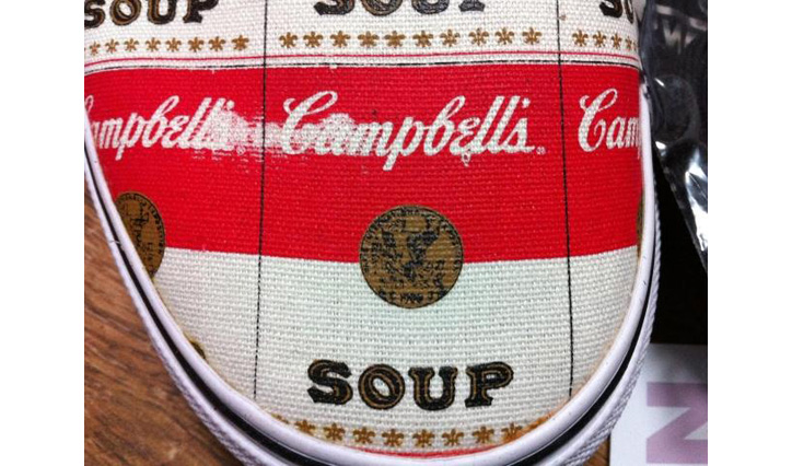 "Photo04 - Supreme x Vans Authentic ""Campbell Soup"""
