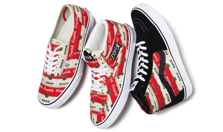 Photo01 - VANS x SUPREME WARHOL CAMPBELLS SOUP PACK