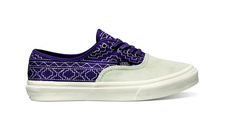 """Photo01 - Vans California Fall 2012 Authentic CA """"Native Embroidery"""""""