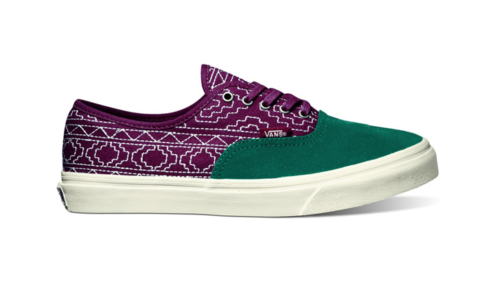"""Photo02 - Vans California Fall 2012 Authentic CA """"Native Embroidery"""""""