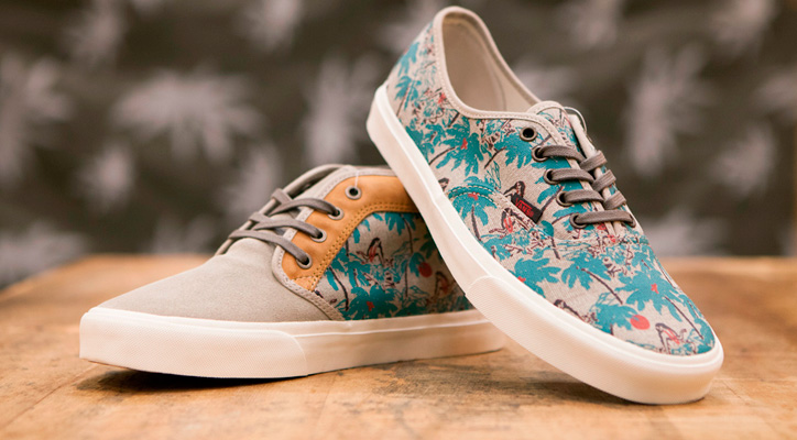 "Photo01 - Vans California 2013 Spring/Summer ""Aloha Camo"" Pack"