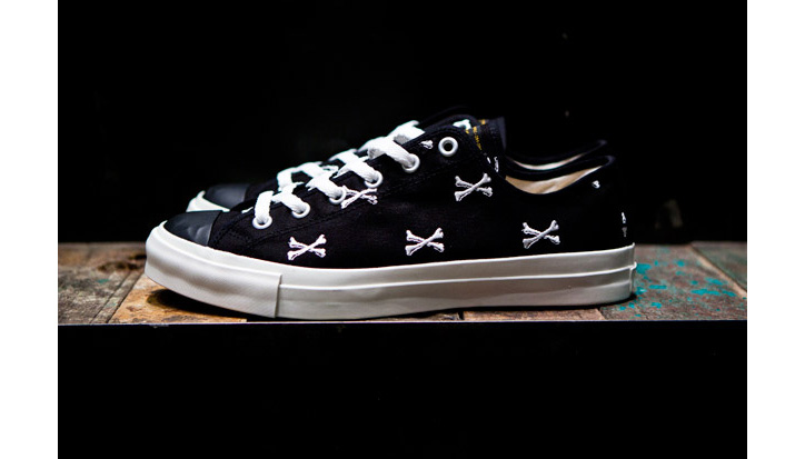"Photo02 - WTAPS ""Crossbones"" Canvas Sneaker"