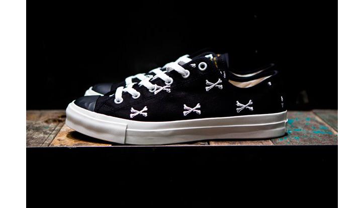 "Photo02 - WTAPS ""Crossbones"" Canvas Sneaker"