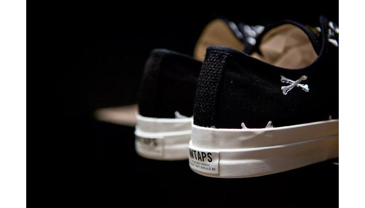 "Photo04 - WTAPS ""Crossbones"" Canvas Sneaker"