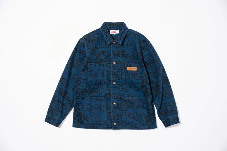 supreme-comme-des-garcons-shirt-cotton-painted-canvas-chore-coat-18aw-collaboration-release-20180915-week4-1