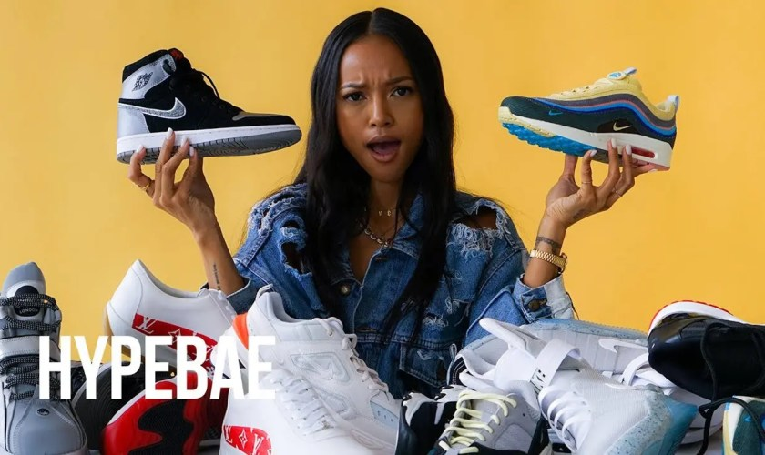Karrueche Tran Rates the Sneakers You Love and Hate1