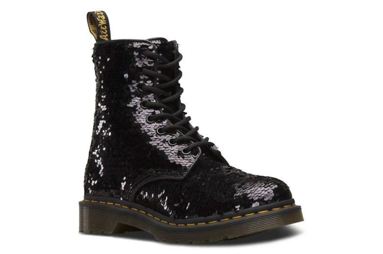 Dr. Martens' Sequinned Boots Are Perfect for Party Season