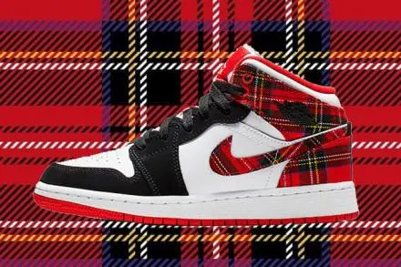 NIKE-AIR-JORDAN-1-MID-GS-HABANERO-RED-BLACK-WHITE
