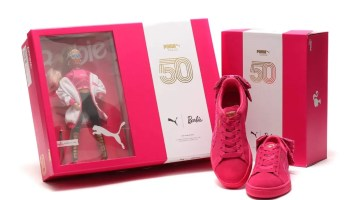 PUMA SUEDE CLASSIC × BARBIE With DOLL RASPBERRY PINK-PUMA WHITE 19SP-I
