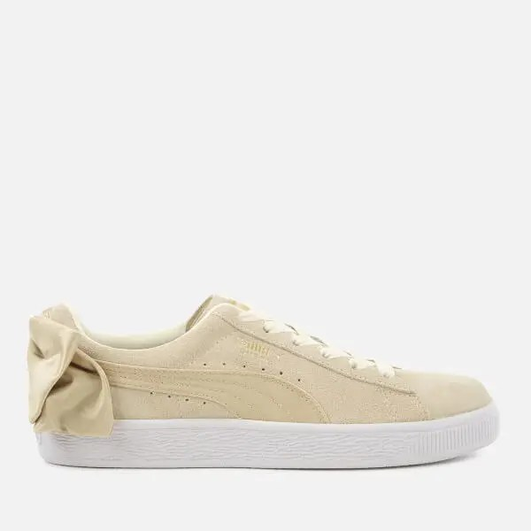 Puma Women's Suede Bow Varsity Trainers-02