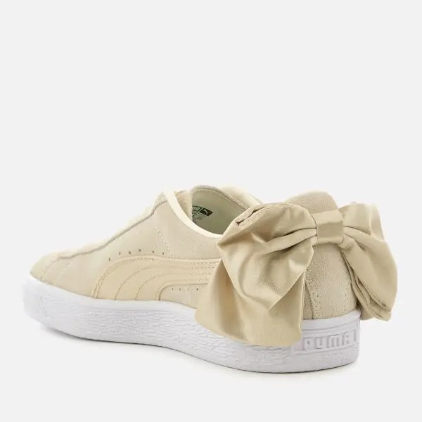 Puma Women's Suede Bow Varsity Trainers-03